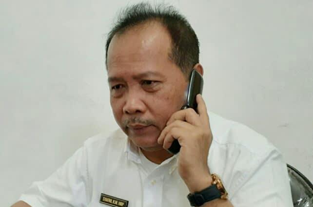 Direktur RSUD Rantauprapat, dr Syafril Rachmadi Maulana Harahap SpB