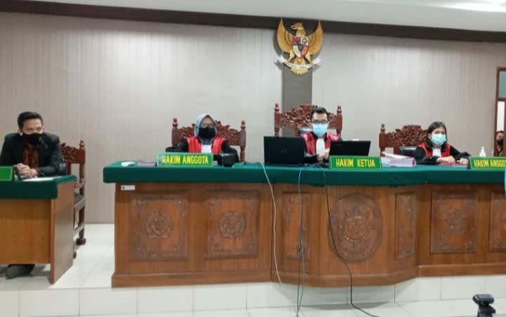 Persidangan terdakwa DTP, Jumat 23 Oktober 2020