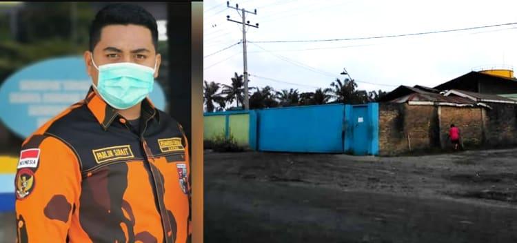 Ket.Gambar: Parlindungan Sirait (kanan)PKS Rapi Tehnik (kiri)