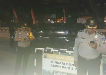 Malam-malam Kapolrestabes Medan bikin kejutan di Pos PAM.