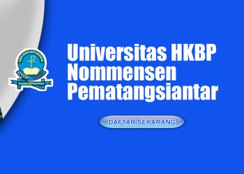 Universitas HKBP Nommensen Pematangsiantar menerima pendaftaran Mahasiswa/i baru Tahun Ajaran 2019-2020.