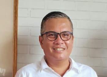 Ketua DPC PDI Perjuangan Kabupaten Labuhanbatu, Dahlan Bukhari