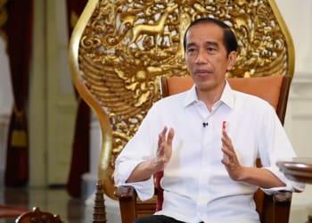 Presiden Jokowi memberikan keterangan pers mengenai perkembangan vaksinasi COVID-19, Rabu (16/12/2020). (Sumber: Tangkapan Layar YouTube Sekretariat Kabinet)