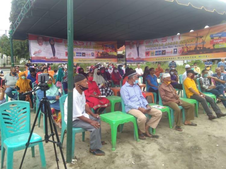 Cawawalkot Siantar, Susanti Dewayani saat kampanye di Tomuan