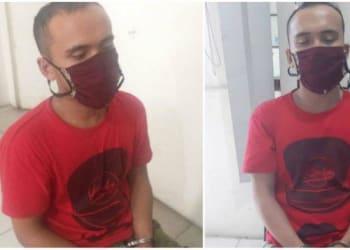 Pelaku perampokan dan penganiayaan pensiunan ASN Pemko Siantar. Foto Istimewa/Tribun