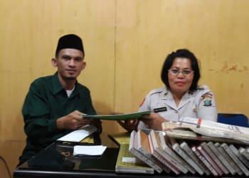 Laporan Pengaduan HIMMAH sumut yang langsung diantar oleh Ketua HIMMAH Sumut