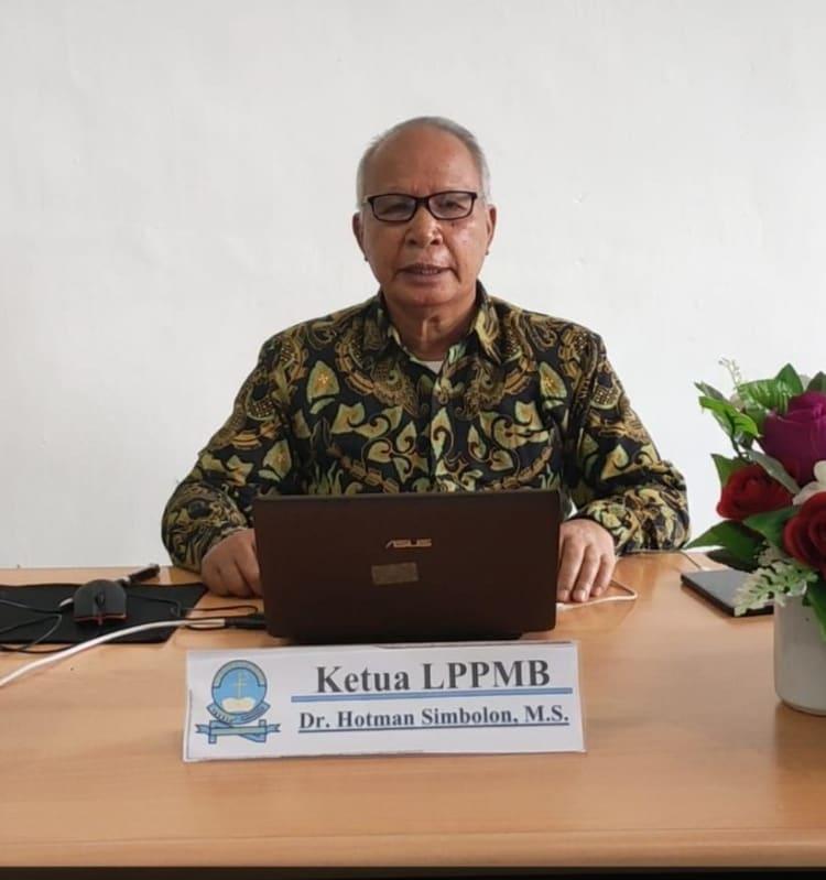 Hotman Sombolon, Ketua LPPMB Universitas HKBP Nommensen Pematangsiantar