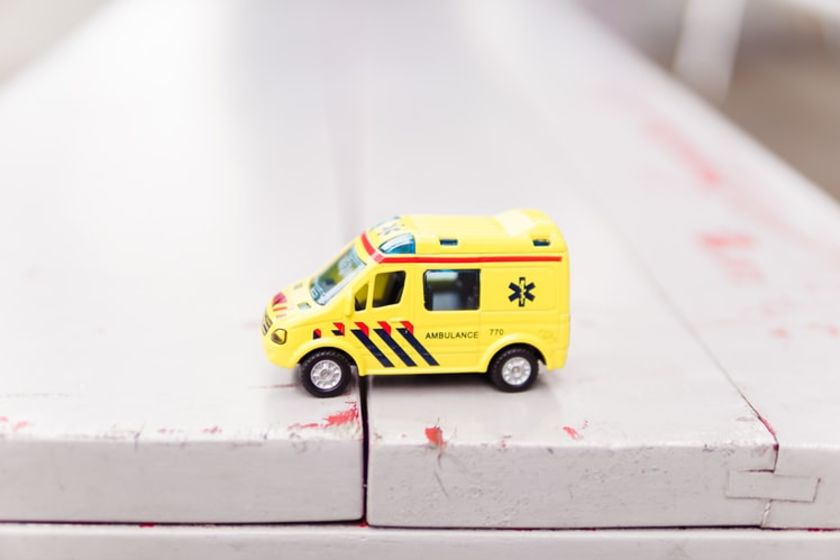 tiny ambulance