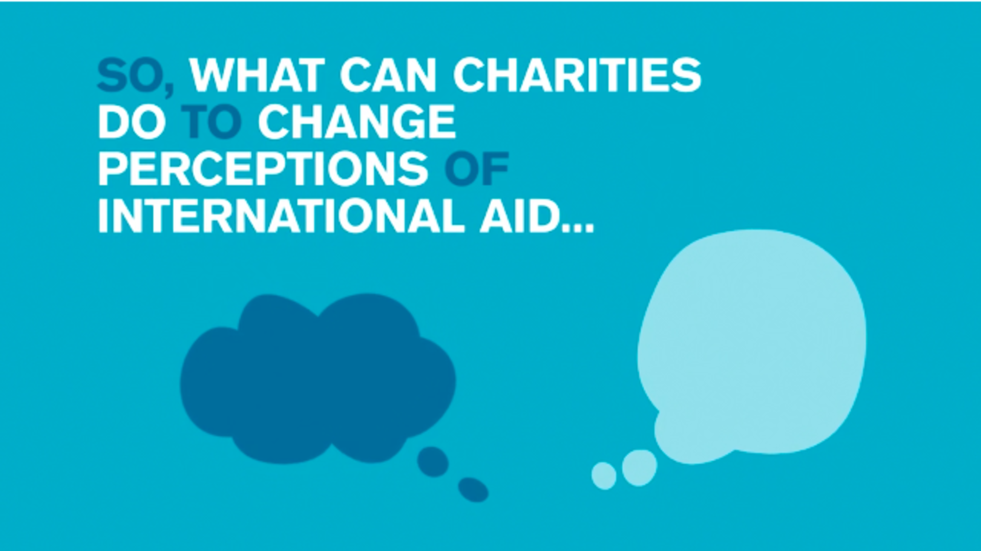 Are Charities Doing Enough to Tackle Public Skepticism?