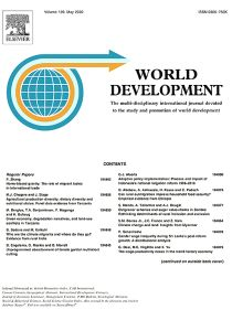 Motivations for Aid to Developing Countries