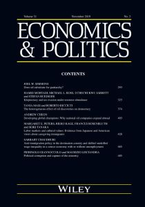 The Political Economy of U.S. Foreign Aid: American Legislators and the Domestic Politics of Aid