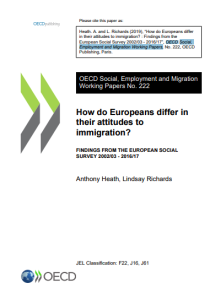 How Do Europeans Differ in Their Attitudes to Immigration?