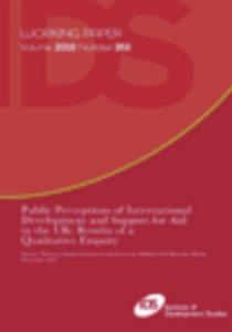 Development Education: Towards a Re-Conceptualisation