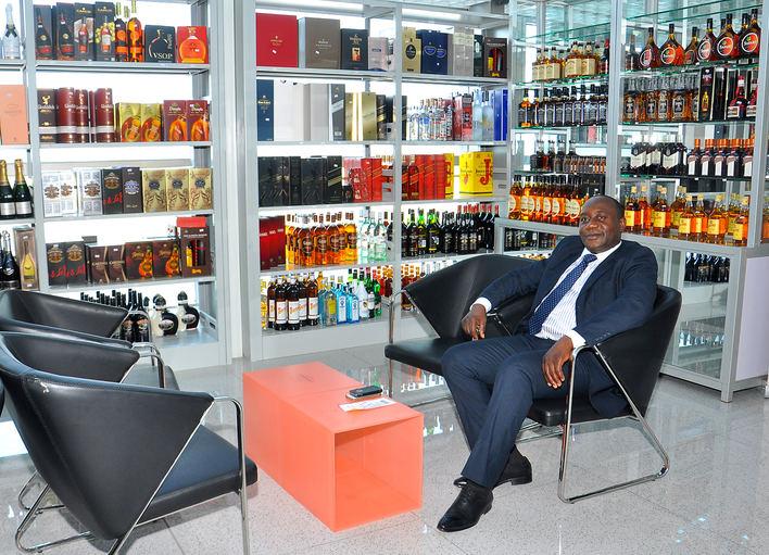 Duty free, produits cosmétiques, alcools