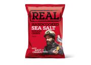 Real Hand Cooked Crisps – Sea Salt – 35gr