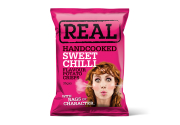 Real Hand Cooked Crisps – Sweet Chilli – 35gr