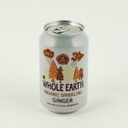 Whole Earth Lightly Sparkling Organic Ginger