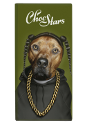 ChocStars - 'RAP - Dark Chocolate 50% - 100g Bar