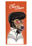 ChocStars - 'VEGAS - Dark Chocolate 50% - 100g Bar