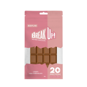 Break Up Protein Chocolate, no added sugar - Cripsy Milk Chocolate
