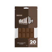 Break Up Protein Chocolate, no added sugar - Dark Chocolate Almond