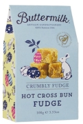 Buttermilk hot cross bun crumle fuge 12 x 100 gr