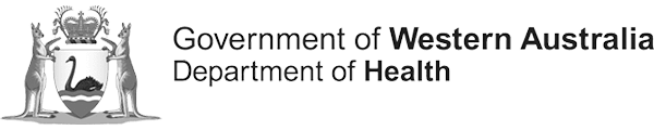 Logo for the Government of Western Australia Department of Health