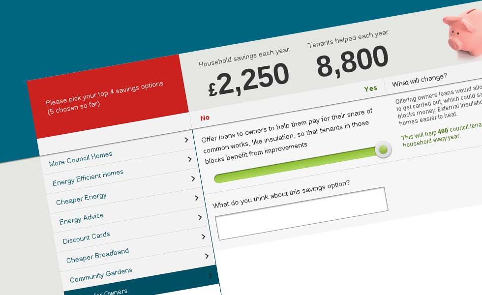 'screenshot of 'Edinburgh Council, UK - Housing Services