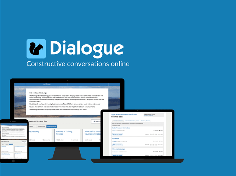 cover sheet of Dialogue overview document