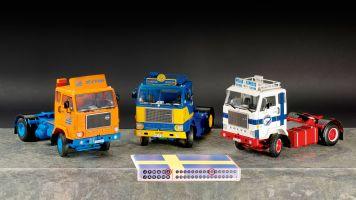 Das System 8: Volvo F88 von Road Kings in 1:18