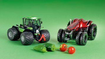 Die Zukunft ernten: Zwei neue Traktoren von Schuco in 1:32