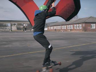 Wing Skate Session