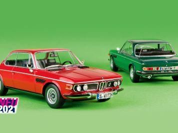 Vier-Augen-Gedicht: '68 BMW 2800 CS von Minichamps in 1:43