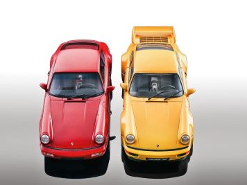 Race of Champions: Porsche 911 (964) von Solido und GT Spirit in 1:18