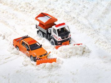 Der Wiking-Winterdienst steht allzeit bereit: Schnee von gestern und heute