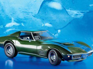 Grundgütiges Grün: '69 Chevy Corvette von Norev in 1:18