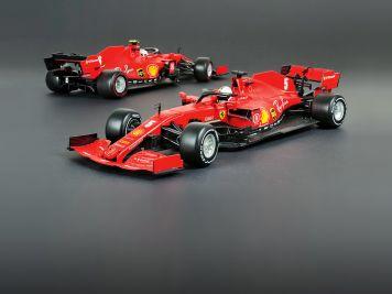 Vettels rote Göttin: '20 Ferrari SF1000 von Bburago in 1:18
