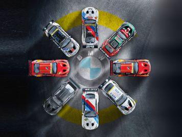 Achtmal M6: BMW M6 GT3 von Minichamps in 1:18