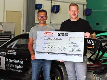 Trio powert Porsche-Spendenaktion