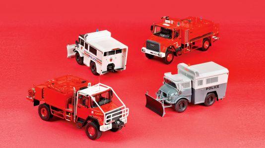 Voller Einsatz: Fünf Lkw-News aus Frankreich in 1:43