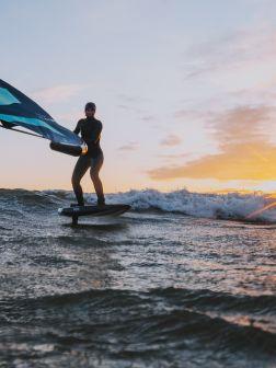 Wingsurfen lernen in der Welle – Teil 1