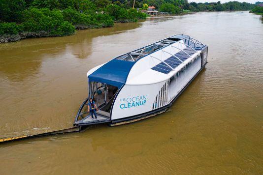 Einige besonders stark verunreinigte Flüsse werden bereits durch die Interceptors bearbeitet.