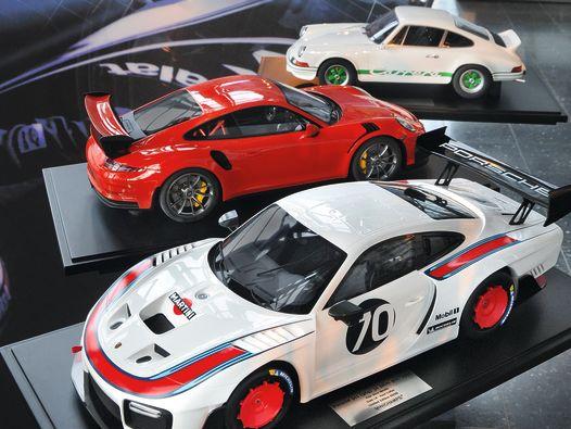 Acht gegeben: Neue 1:8-Porsche von Minichamps