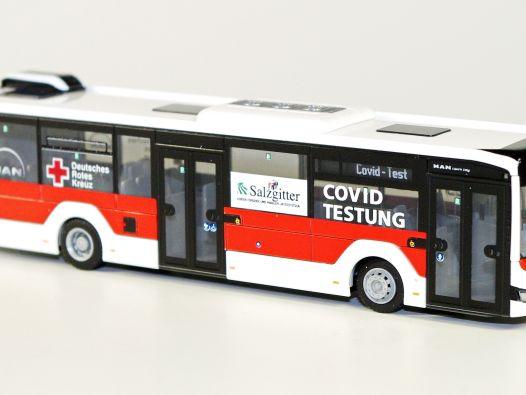 Dieser Bus macht Covid-Tests