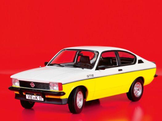GT-Boah-ey! '77 Opel Kadett GT/E Coupé von Norev in 1:18