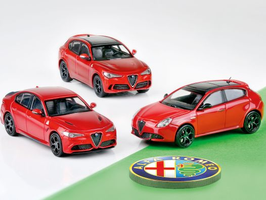 Alfantastisch: Drei neue Minichamps-Alfa in 1:87