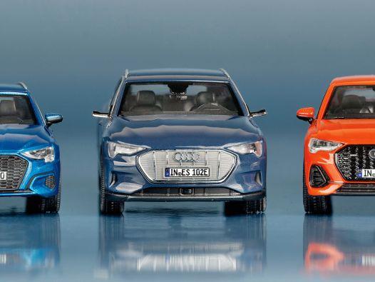 Glorreiche 7: Audi-News von iScale und Minimax in 1:43