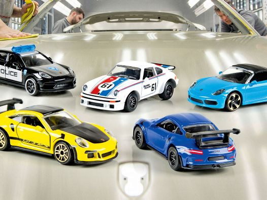 Zuffensausen: Majorettes Porsche Edition in 1:64