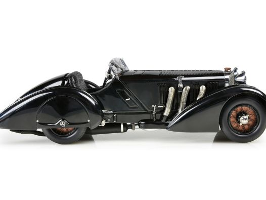 """Prinzenrolle: '34 Mercedes-Benz SSK """"Trossi"""" von CMC in 1:18"""