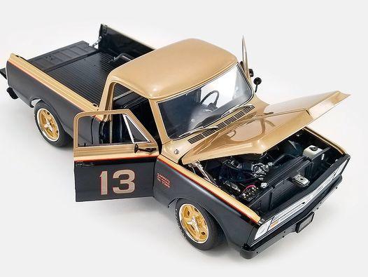 Smokeys Pick-up: Yunicks Chevy C10 von ACME in 1:18